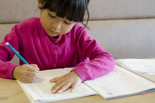 通塾開始前に学習習慣と基礎学習は終えておく