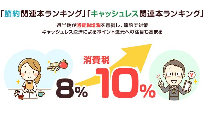 楽天ブックスが10月の消費税増税を前に節約関連本ランキングを発表